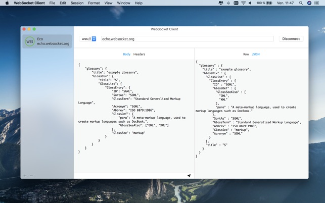 WebSocket Client on the Mac App Store