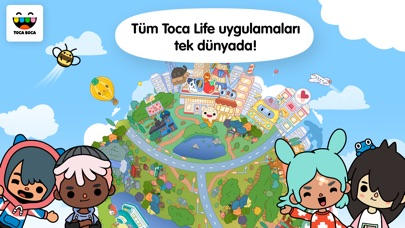 Screenshot for Toca Life: World in Turkey App Store