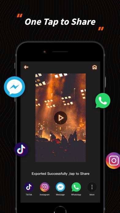 BeatStarr - Music Video Maker screenshot 1