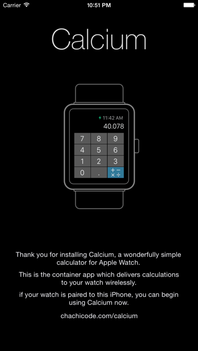 Calcium: アップルウォッチ用電卓のおすすめ画像1