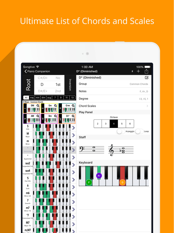 Piano Chords, Scales Companion | App Price Drops