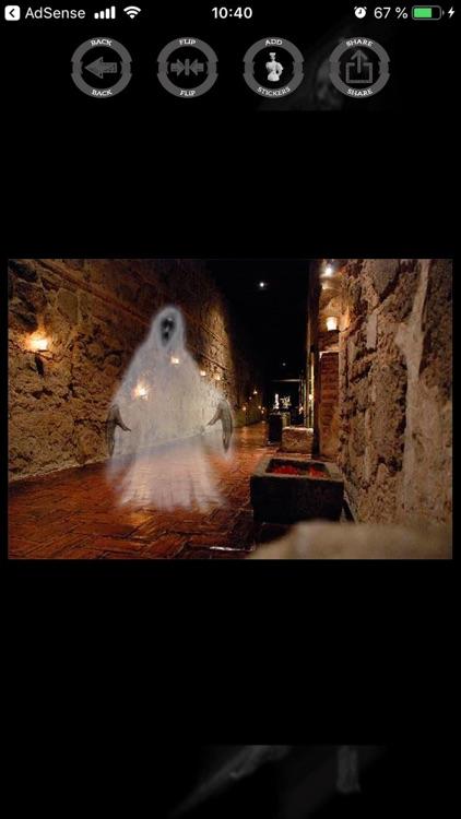 Ghosts stickers maker editor screenshot-8