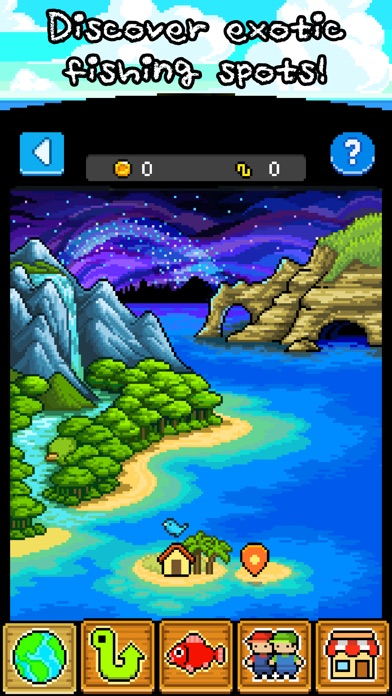 Fishing Paradiso Screenshot on iOS