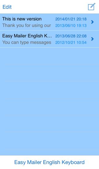 Easy Mailer English Keyboardのおすすめ画像3