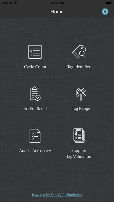 RFID Scout screenshot one