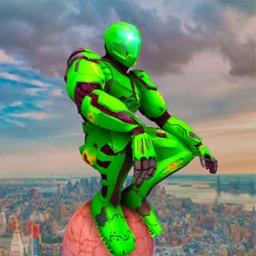 Robot Rope Hero : Web Shooter