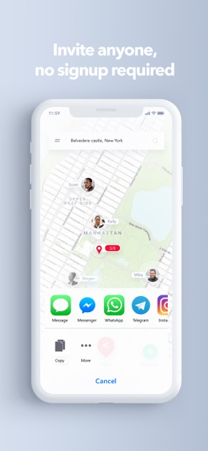 MeetMe@: Live meeting points on the App Store