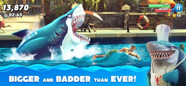Hungry Shark World IPA (MOD Tiền vàng, kim cương)