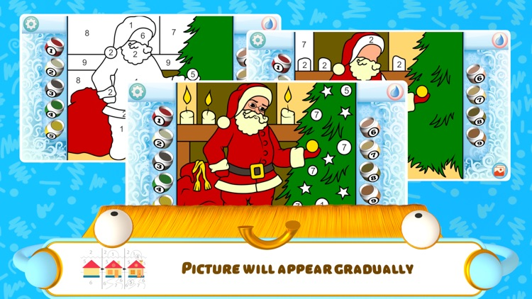 Color by Numbers - Christmas screenshot-4
