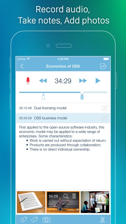 eXtra Voice Recorder Pro screenshot-0