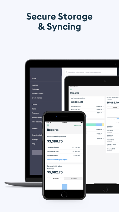 Easy Invoice Maker: Invoice2go Screenshot