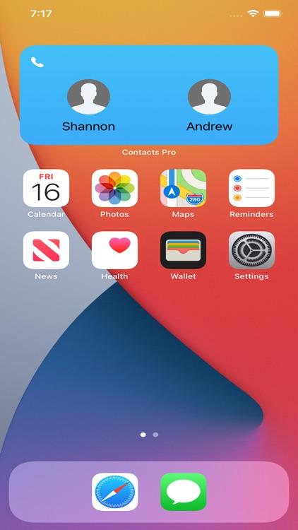 Contact Widget Pro screenshot-3