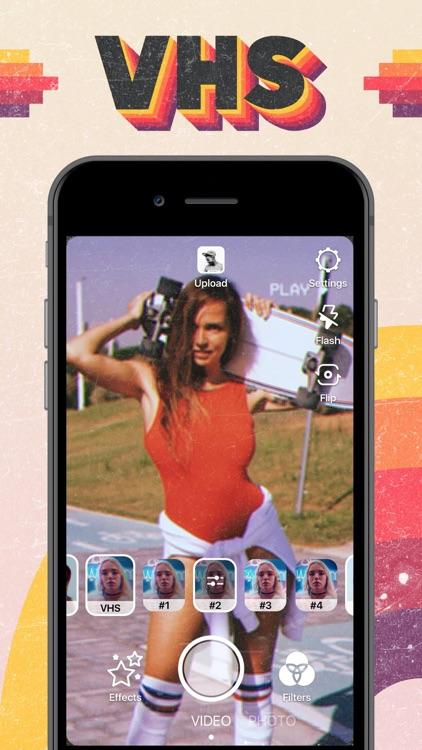VHS Video Editor, Vintage Cam screenshot-0
