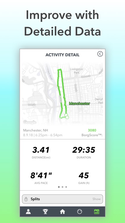 Cyborg: Track Workout & Route screenshot-3