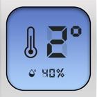 数字温度计助手-实时室内和户外温度和湿度监测 icon