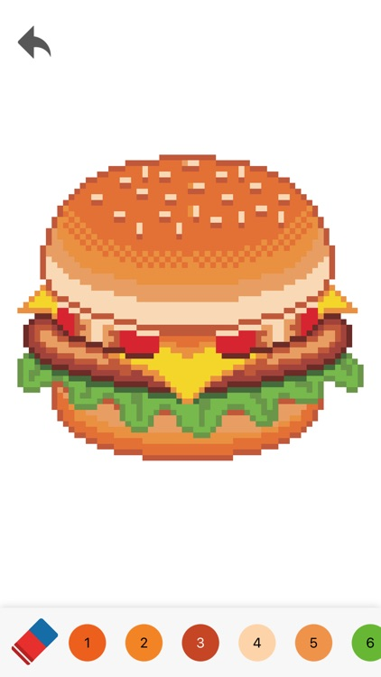 Pixelmania - Number Coloring screenshot-3