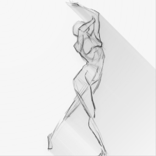 Gesture Drawing Practice icon
