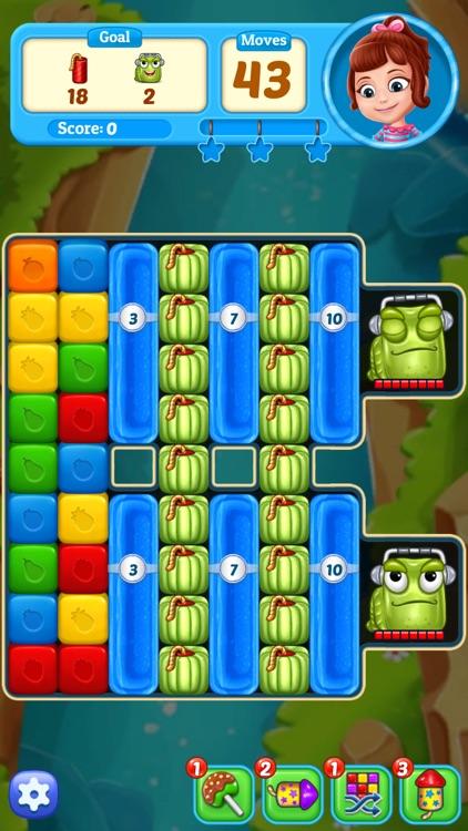Fruit Cube Blast: Match 3 Game screenshot-6