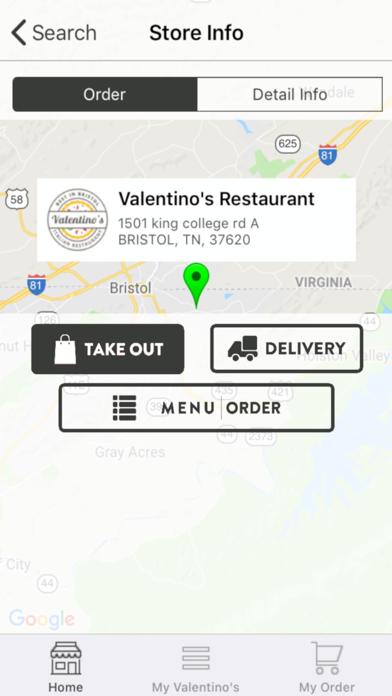 Valentinos Restaurant screenshot three