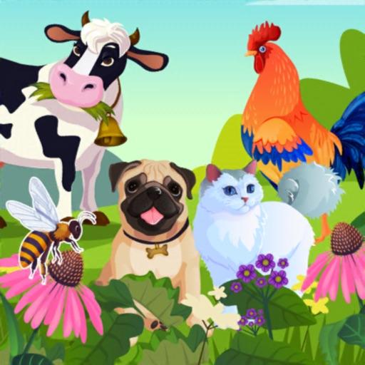 KidsDi: Pets puzzle