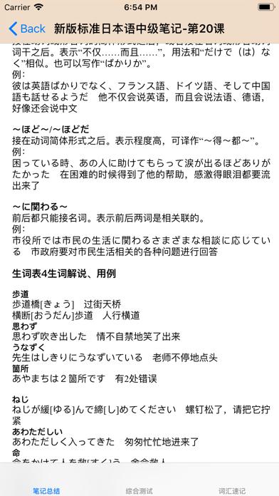标准日本语词汇、语法、课堂笔记总结大全のおすすめ画像3