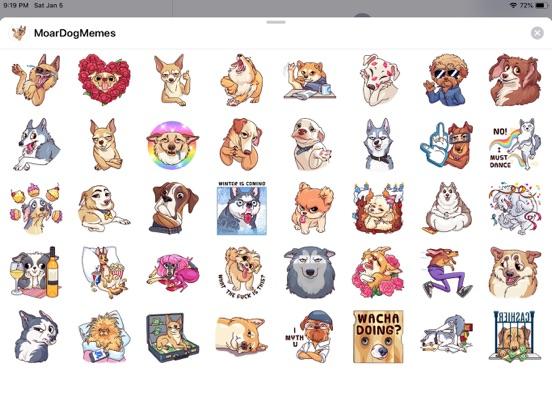 Dog Cute Pun Funny Stickers screenshot 4