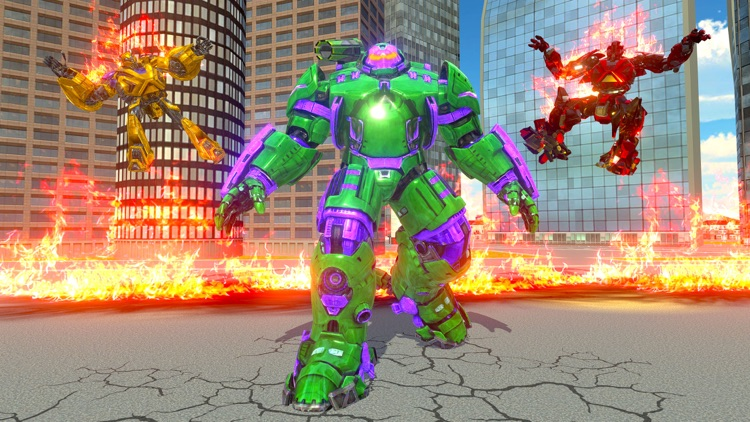 Incredible Monster Robot War screenshot-3