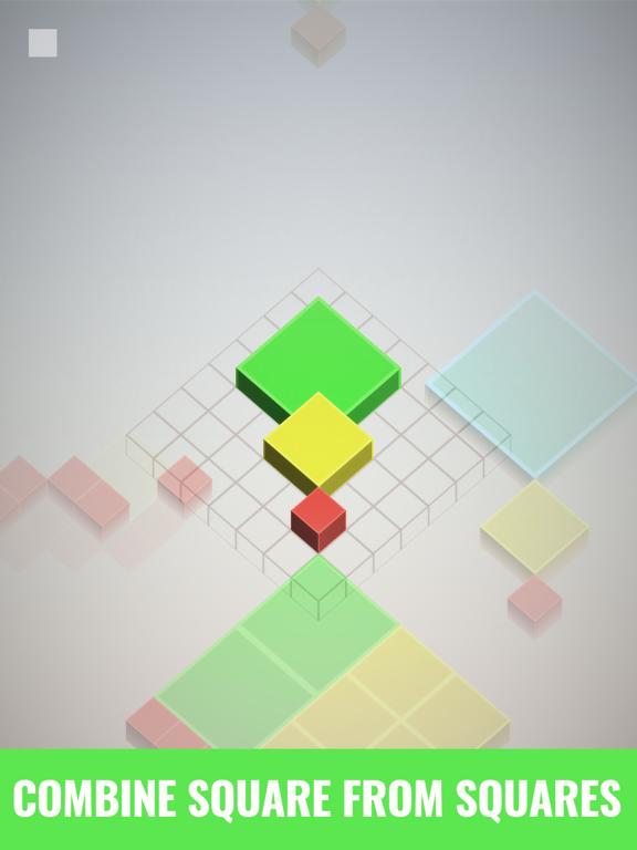 Isometric Squares - puzzle ²のおすすめ画像1