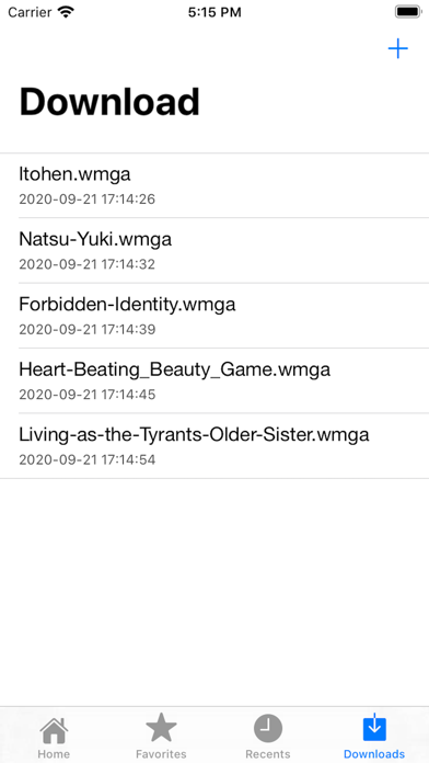 Screen Shot Manga Reader - Read Manga WMGA 3