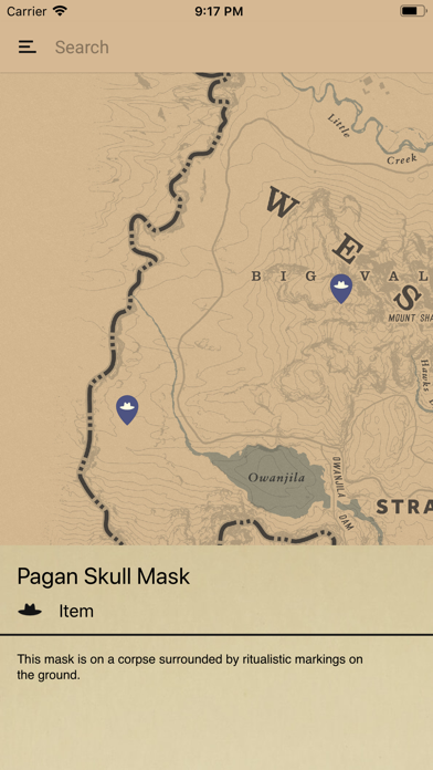 Unofficial Map for RDR2 by Digitech Apps (iOS, United States