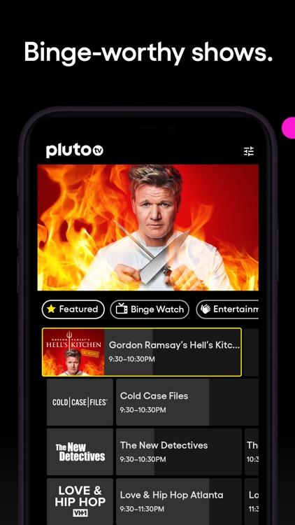 Pluto TV - Live TV and Movies screenshot-3