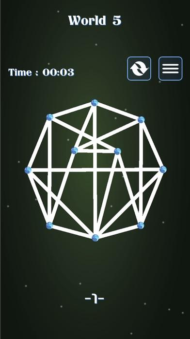 Brain Dot Connect 두뇌게임, 한붓그리기2 app image