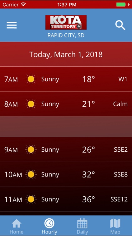 KOTA Mobile Weather screenshot-3