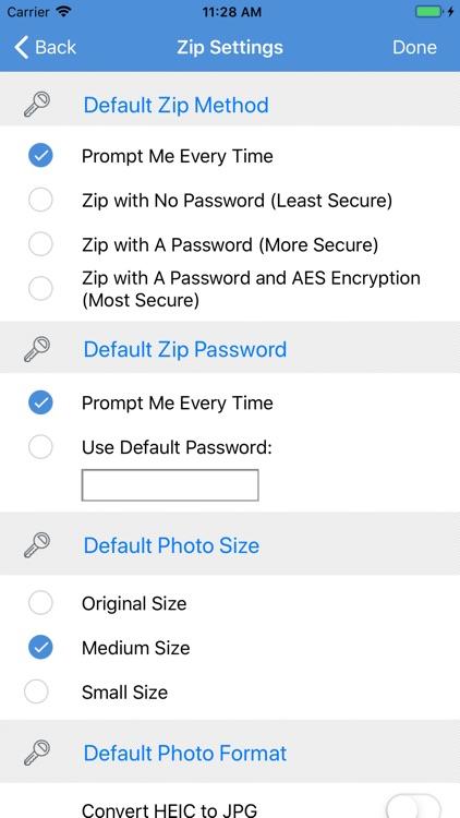 iZip - Zip Unzip Unrar Tool screenshot-6