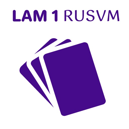 RUSVM LAM1 Flashcards