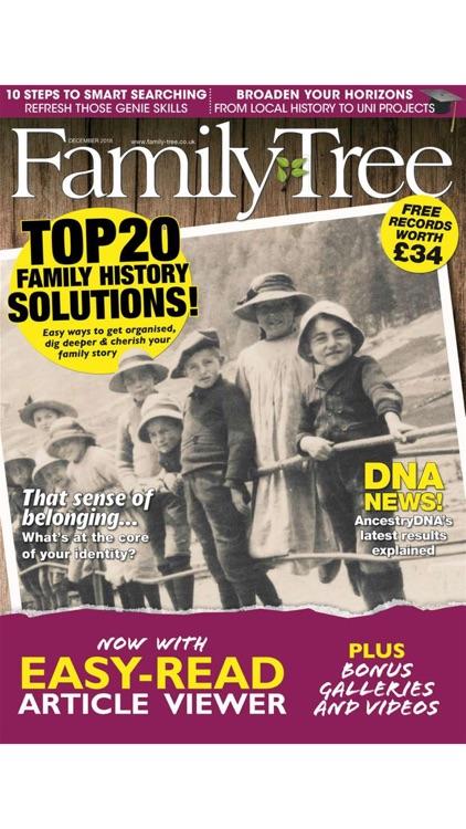 Family Tree Magazine. screenshot-3