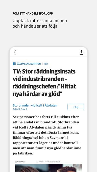 DT Nyhetsapp på PC