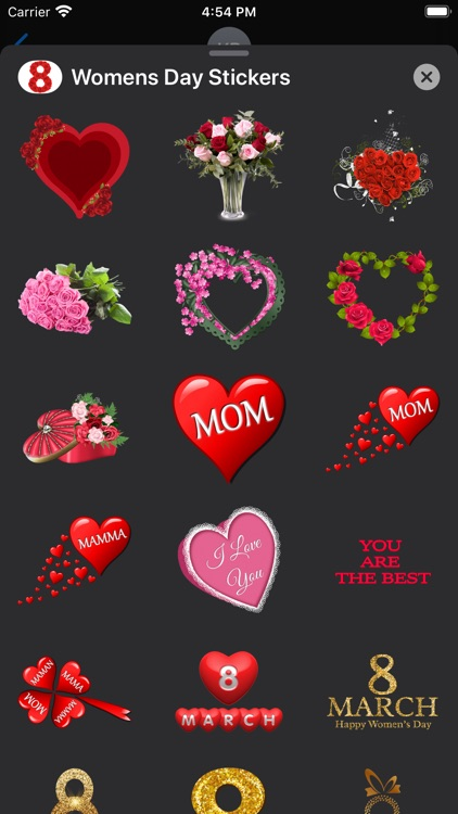 Happy Women's Day Sticker-Pack screenshot-4