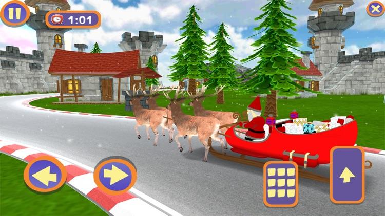 Santa Christmas Infinite Track screenshot-4