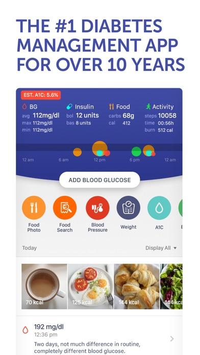 Glucose Buddy Diabetes Tracker screenshot one