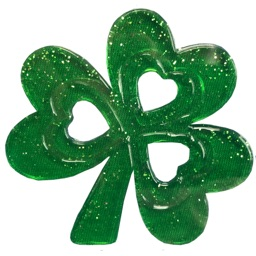 Mia St Patricks Day Stickers