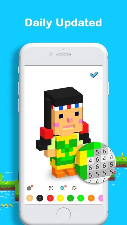 Voxel: Pixel Art Coloring screenshot-4