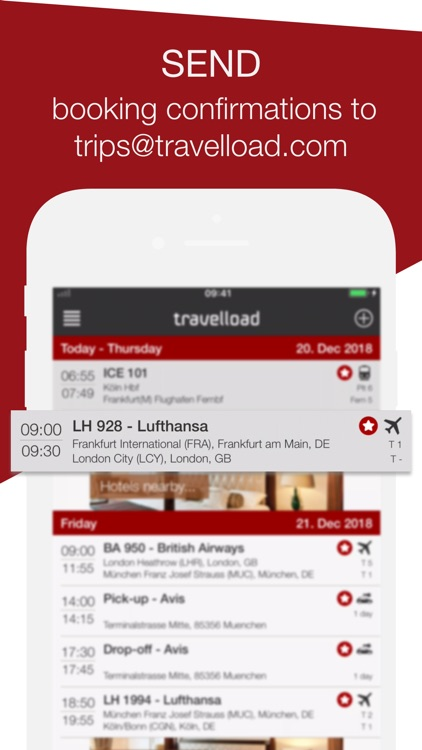 travelload itinerary manager