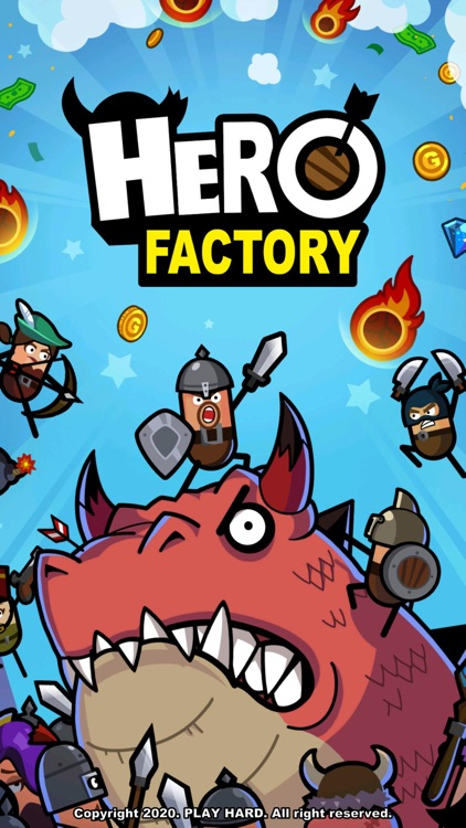 Hero Factory : Idle Tycoon screenshot-0