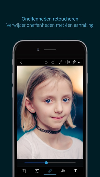 Screenshot for Adobe Photoshop Express in Netherlands App Store