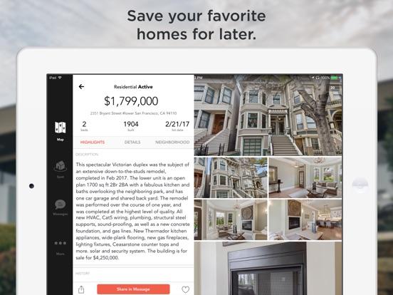 Screenshots for HomeSpotter Real Estate