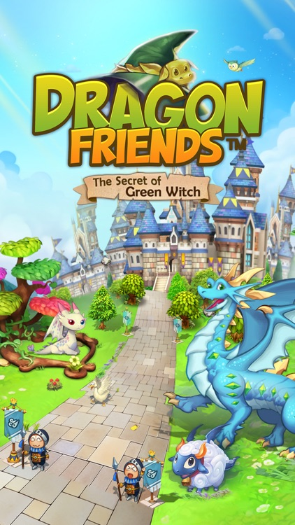 Dragon Friends :Green Witch screenshot-0