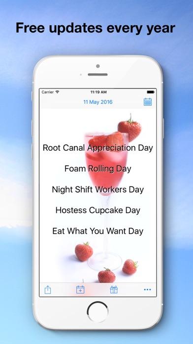 Bizarre Holidays Calendar Screenshots