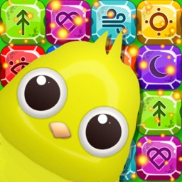 Birds: Candy Jewels Gems Match