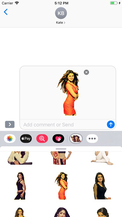 Bollywood Stickers Pack screenshot-8